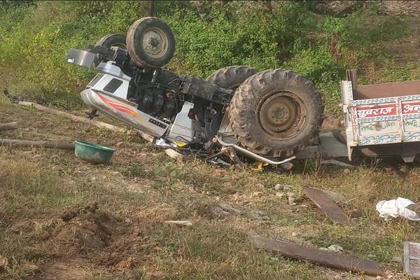 tragic accident 3 children same family die due tractor trolley overturning