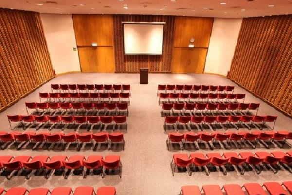 4 storey auditorium to be built under one roof 12 crore to be built