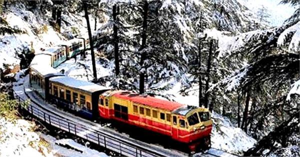 3 special trains will run on kalka shimla track