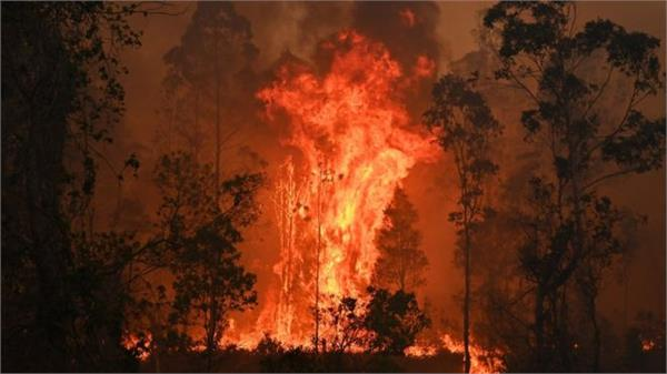 australia bushfires three dead and thousands forced from homes