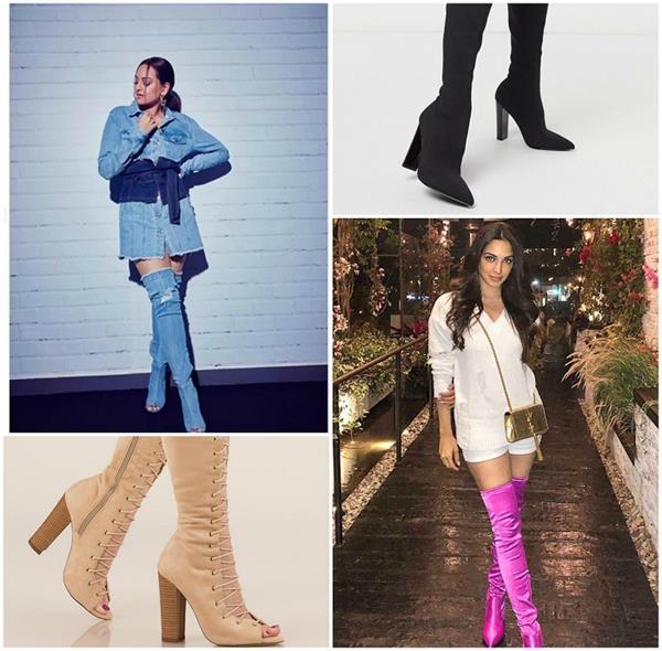 Winter Style ! कियारा की तरह आप भी ट्राई करें थाई-हाई बूट्स, सोनाक्षी की डेनिम बूट्स भी नहीं है कम