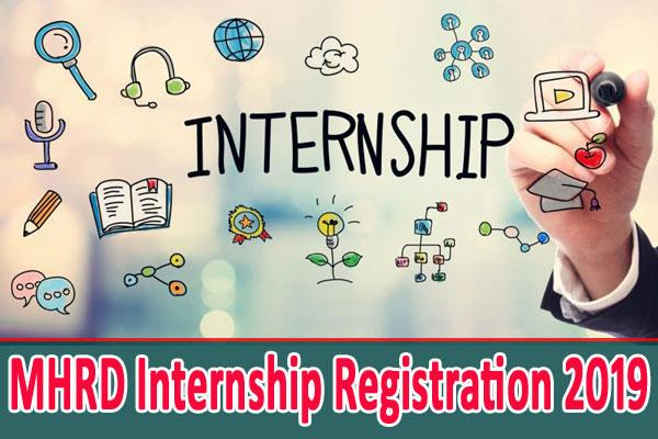mhrd internship registration 2019 last chance for graduates students
