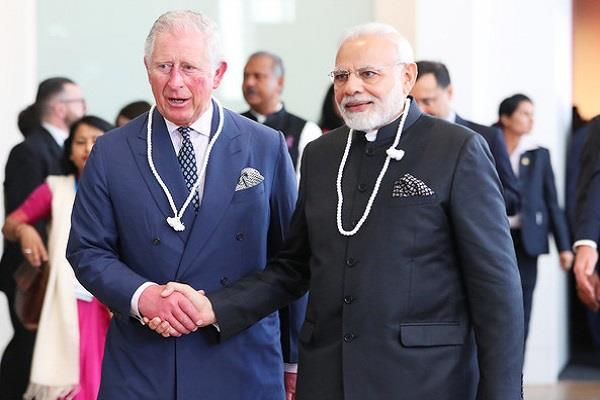 britain s prince charles will visit india tomorrow