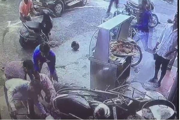 girl falls into boiling oil pan condition critical