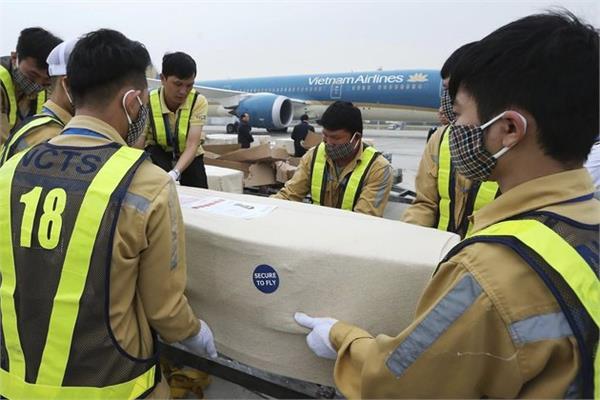 essex lorry deaths victims  bodies arrive back in vietnam