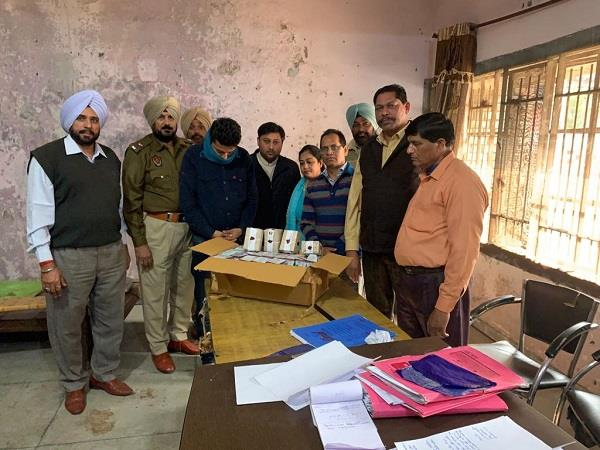 counterfeit ghee seller controlled 36 packets recovered