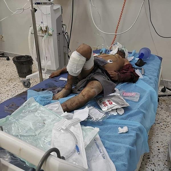 libya air raid kills 7 including foreign workers