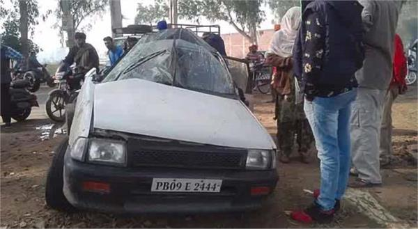 tragic accident in kapurthala 2 died