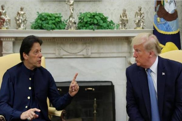 pakistan imran khan america donald trump