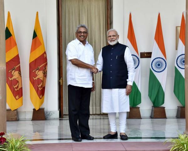 pm modi joint press conference with sri lankan president