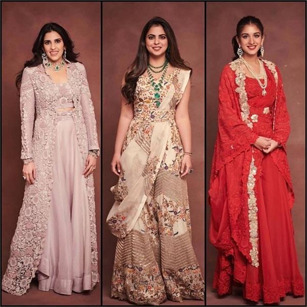 Best Outfit: एक ही डिजाइनर की इंडो-वेस्टर्न ड्रेस में नजर आई अंबानी गर्ल्स