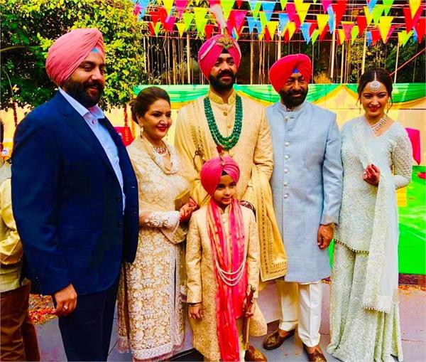 sukhpal khaira son wedding