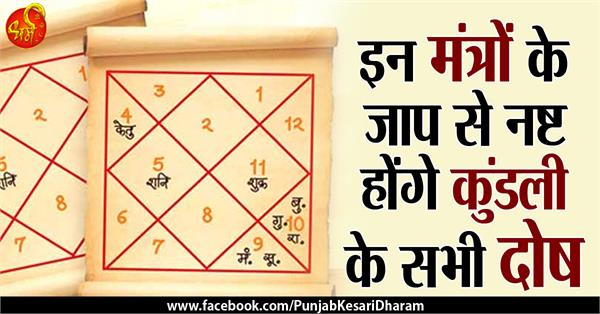 special mantra for kundli dosh