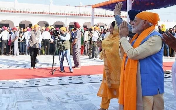 pm modi inaugurated kartarpur corridor