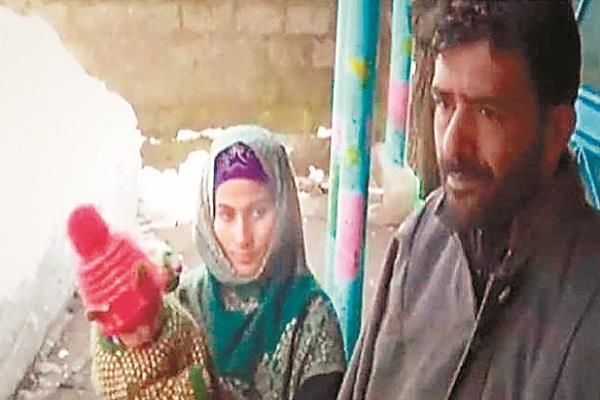 the terrorists who came kill sarpanch shopian villagers drove away bravery