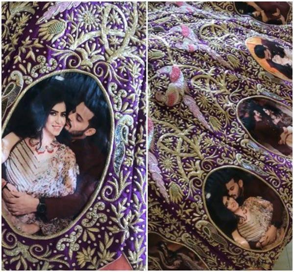 Bridal Trend: लहंगे पर प्रिंट करवाए कपल फोटो