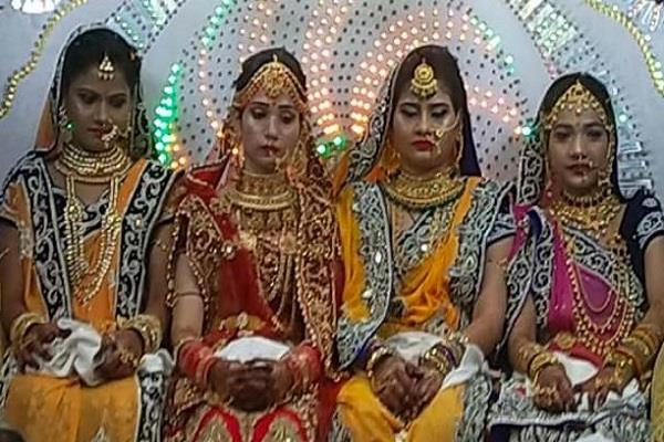 4 young women will become sadhvi including worldly fascination