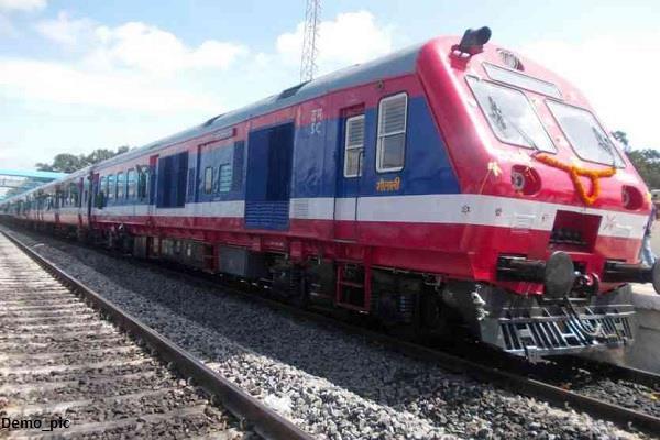 special dmu train running between firozpur jalandhar for 5 days