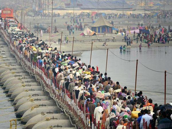 magh mela will run 160 special trains on bathing festivals