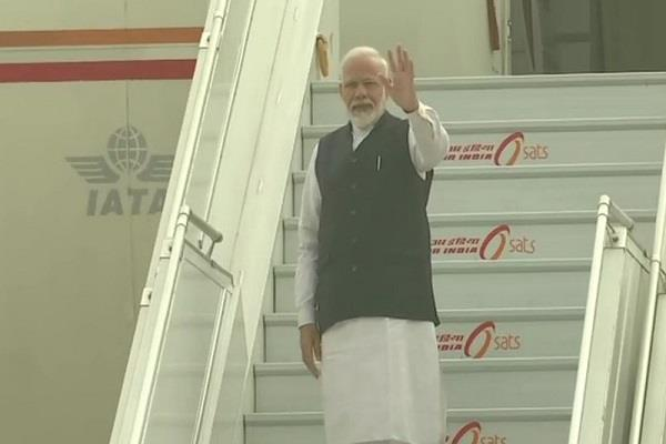 modi leaves for brazil to attend the 11th brics summit