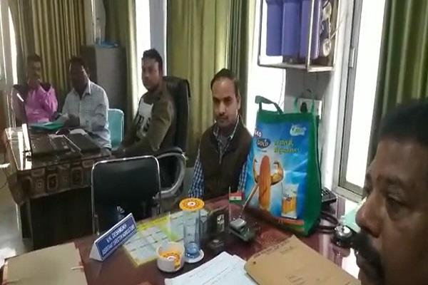 assistant director of agriculture department arrested in seoni
