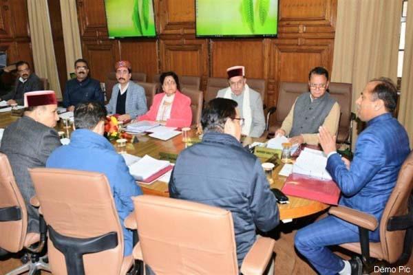 cabinet meeting will held in shimla