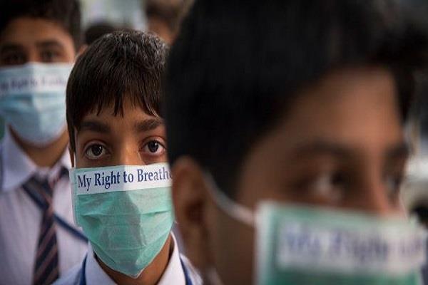 parents wants smog break in schools every year