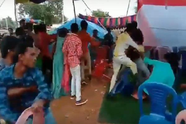 social media telangana video viral wedding