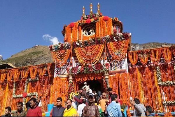 doli of lord badrinath reached joshimath