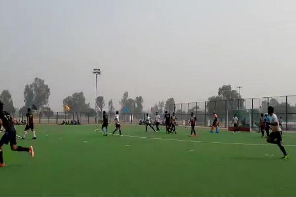 jhajjar and jind s team reached semifinal of 36th state level hockey competition