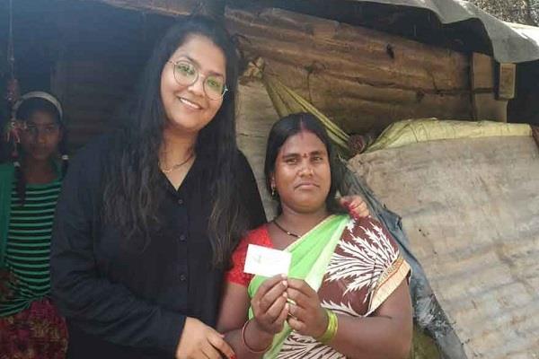 kama wali bai visiting card viral on social media