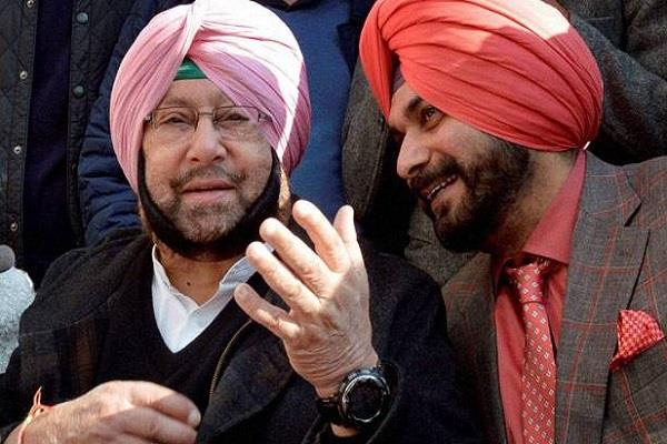 navjot singh sidhu letter to captain wrote let me go to pakistan