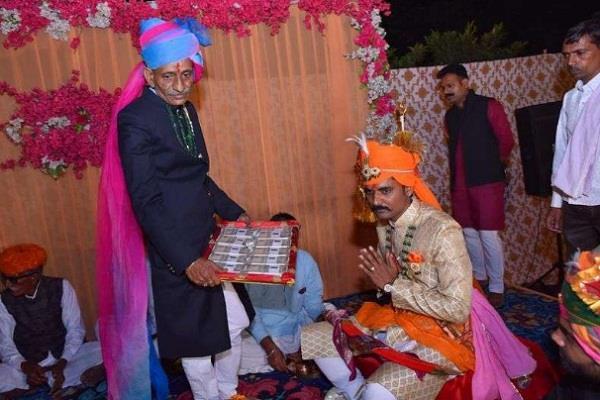 wedding jitendra singh groom bride