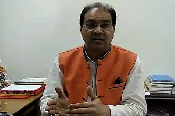 mohsin raza who lashed out at the opposition for the love jihad bill