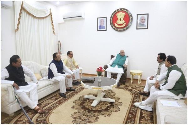 bjp leaders meet gov lodhi case preparation going to congress sc
