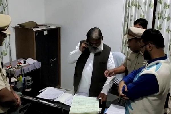 minister anil vij running in gabbar mode suspended female si