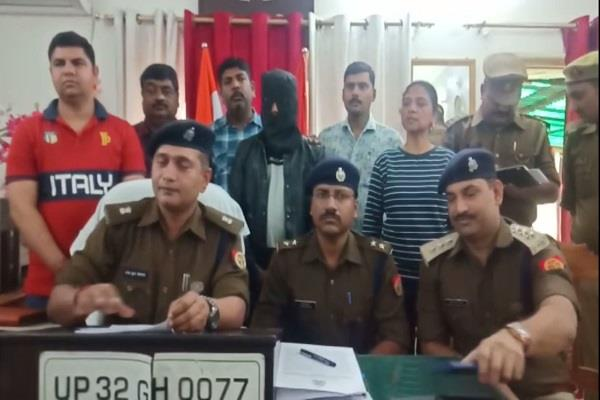 rajdhani police gets big success vicious thief arrested with 3 stolen vehicles