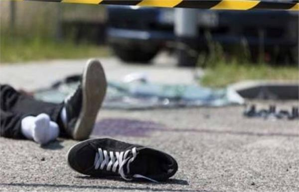 bike ridden mother son dies after being hit by a crane in