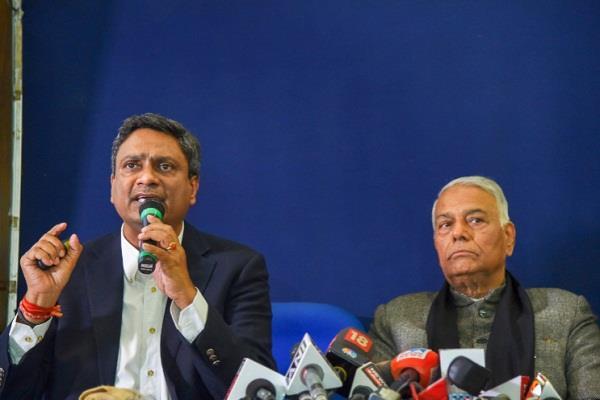 civil society delegation led by yashwant sinha reached kashmir