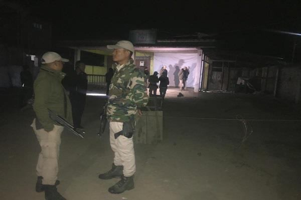 hand grenade thrown outside manipur assembly two crpf jawans injured
