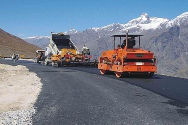construction 11 400 km roads j k pradhan mantri gram sadak yojana