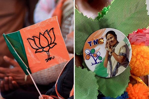 west bengal jolt to bjp 12 councilors join tmc
