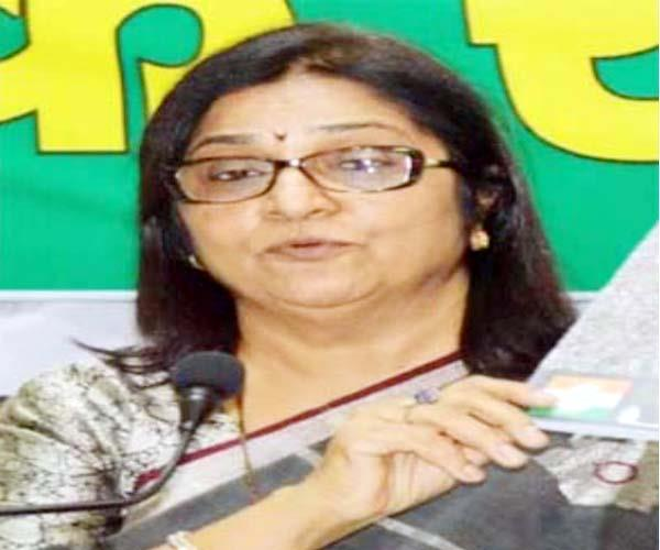 rajni patil gave the warning to anti party workers