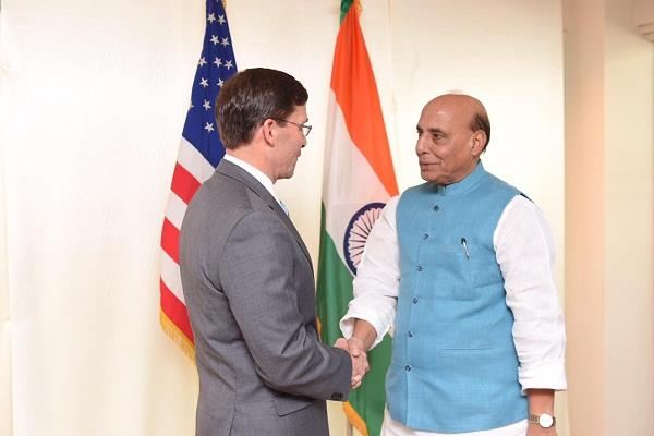 india us cooperation increasing in various fields rajnath