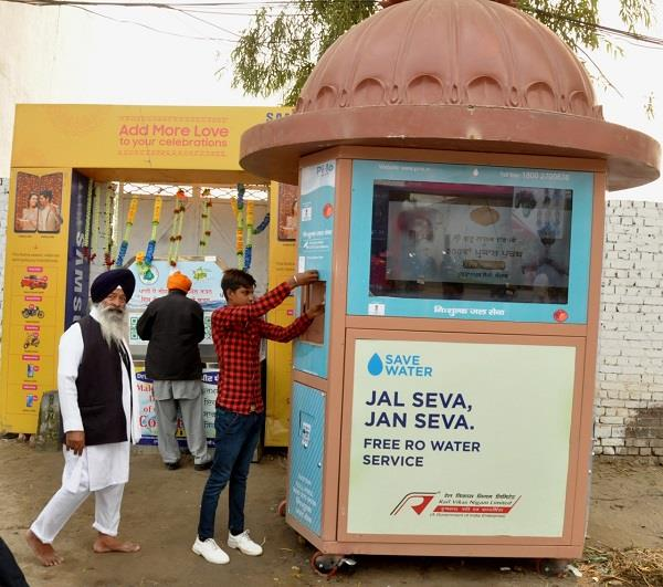 water atm become a center of attraction in sultanpur lodhi