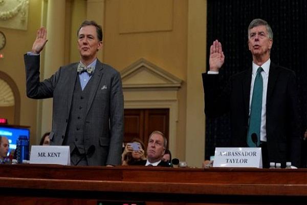 public hearing of impeachment investigation against donald trump begins