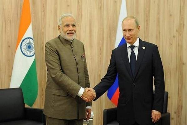 russia plans to give s 400 missile to india putin