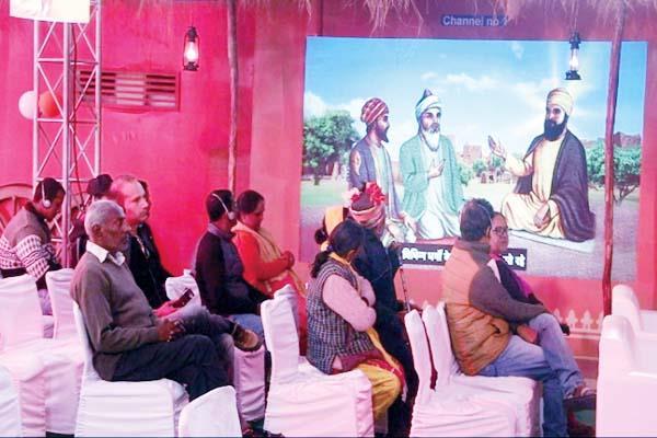 multimedia exhibition in dhalpur ground