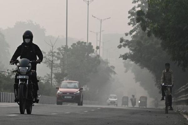 delhi s air quality reaches near  severe  category