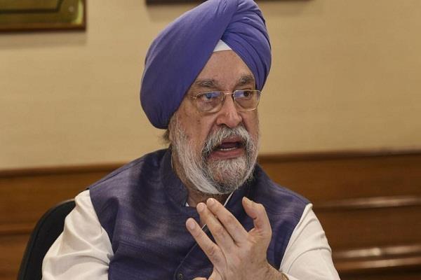 union minister hardeep puri said on cm s candidature